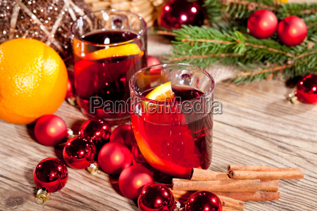 caldo aromatico mulled vino punsch con