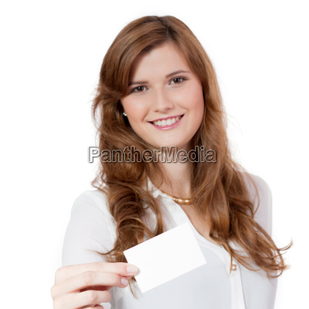young successful laughing businesswoman with business