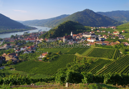 torre chiesa collina verde campo austria