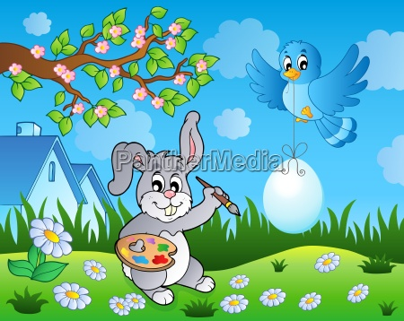 easter bunny topic image 7
