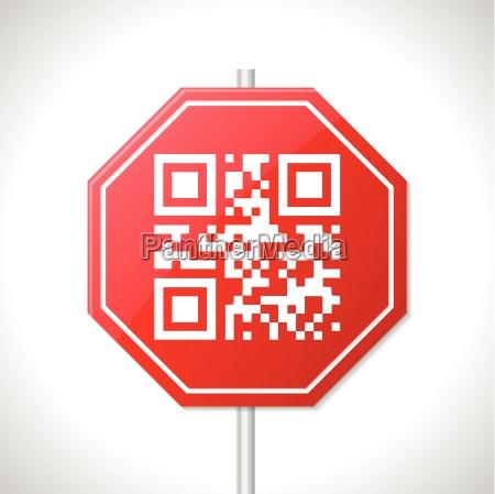 progettazione del segnale di stop con