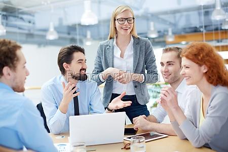 lavorare in riunione