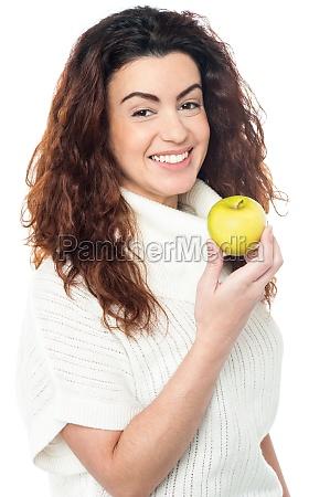 donna risata sorrisi cibo bello bella