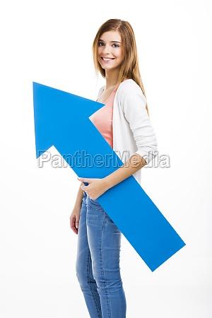 donna donne direzione firmare possesso contento