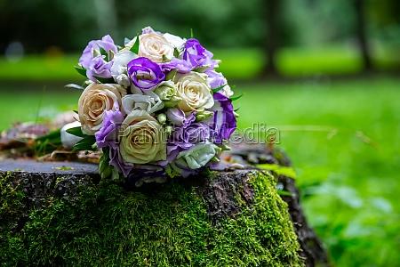 bouquet di nozze della sposa