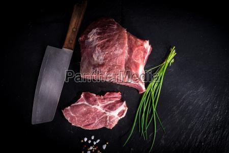 biologico griglia barbecue bistecca collo nuca