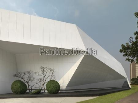 particolare architettura moderna