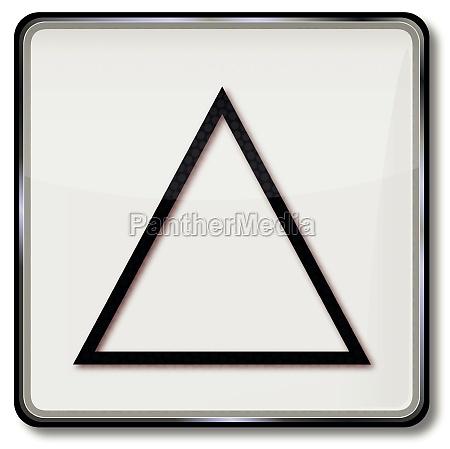 triangolo lavanderia ossigeno matematica impallidire imbiancare