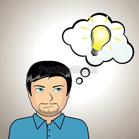 illustrazione di idee