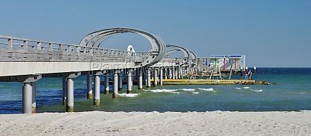view of the pier of kellenhusen