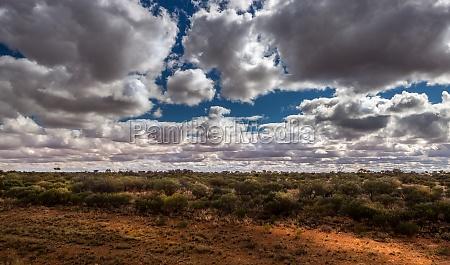 brama lontano distanza larghezza estensione australia
