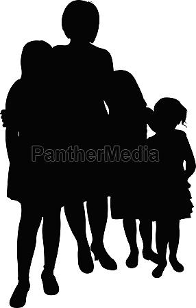 donna signora femminile ritratto persona nero