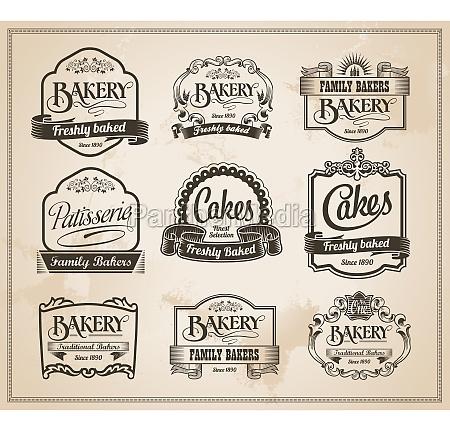 torta torte panificio pasticceria etichetta firmare