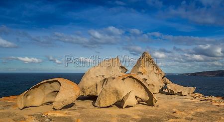 rocce roccia australia costa erosione granito
