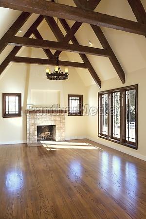 casa costruzione finestra legno porta riflesso