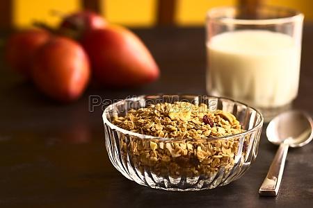 frutta asciugato seccato cereali miscela farina
