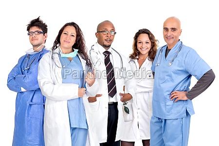 squadra dei medici