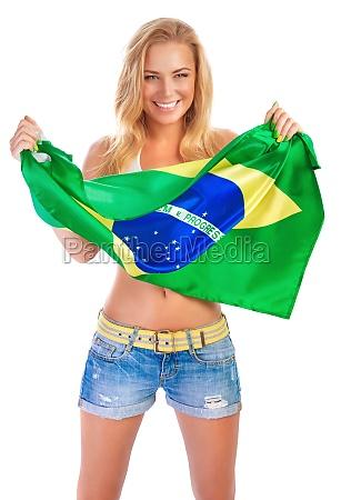 sentimenti emozioni bandiera brasiliano coppa del