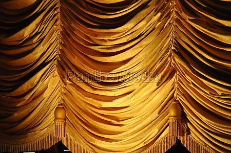 tenda da palcoscenico