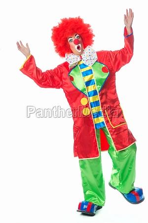 clown sorpreso
