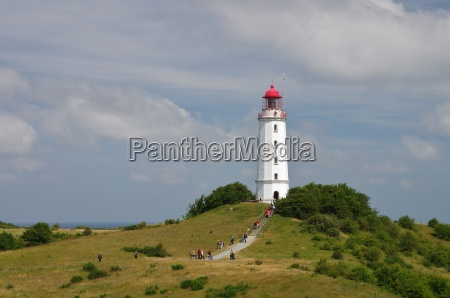 lighthouse dornbusch seaside resort hiddensee