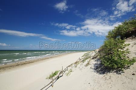 dune landscape at moewenort nordruegen