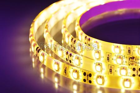 colorato semiconduttori tingere diodo diodo ad