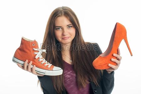 tacchi alti scarpe da ginnastica pompe