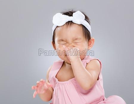 starnuto della neonata