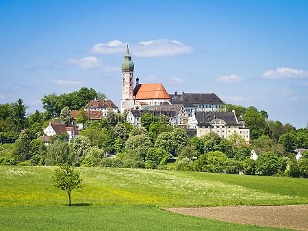 monastero di andechs in baviera germania