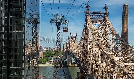 ponte america acciaio corde new york