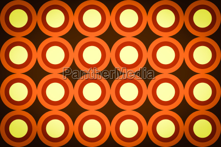 colore illustrazione londra cerchi tingere acido