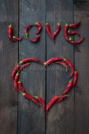 peperoncino rosso amore