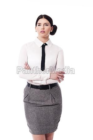 portrait of beautiful businesswoman