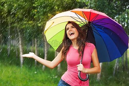 im so happy finally raining