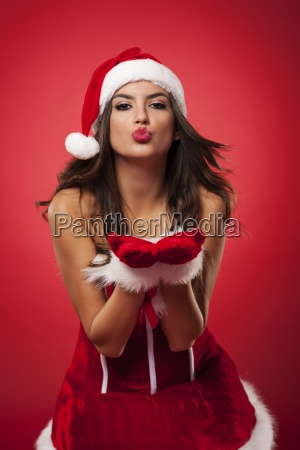 kisses from sexy mrs claus