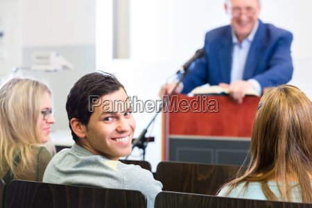 studenti, nell'aula, universitaria - 12129038
