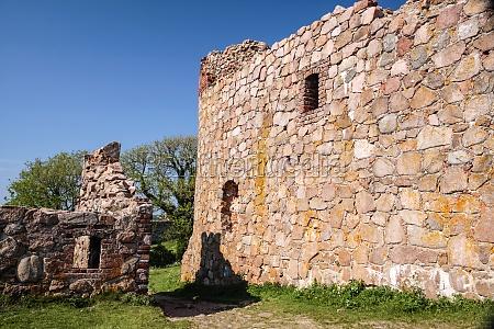 ruin of hammershus