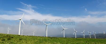 onshore wind farm nella parte settentrionale