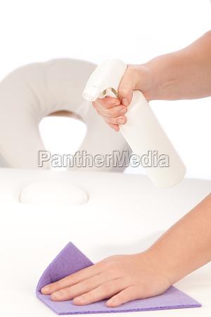 fornitura pulizia ripulire sterile igiene massaggio