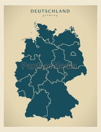 moderna mappa germania