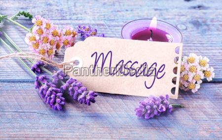 sfondo spa massaggio