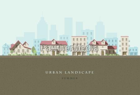 paesaggio urbano