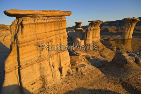 formazione canada erosione geologia modello struttura