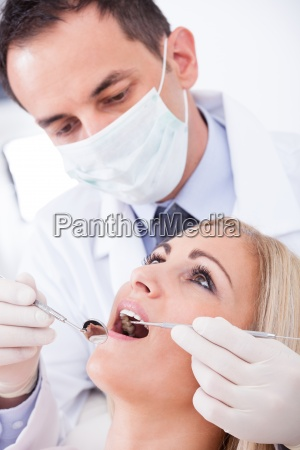 dentista paziente desame