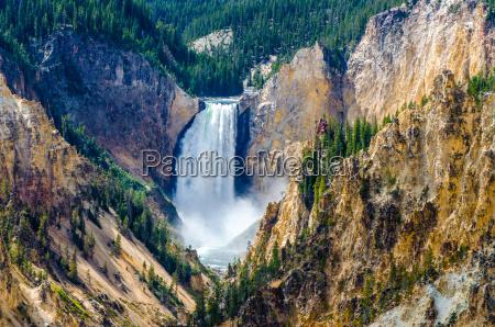 paesaggio vista al grand canyon di