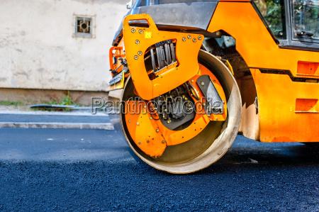 industria macchinario asfalto cantiere