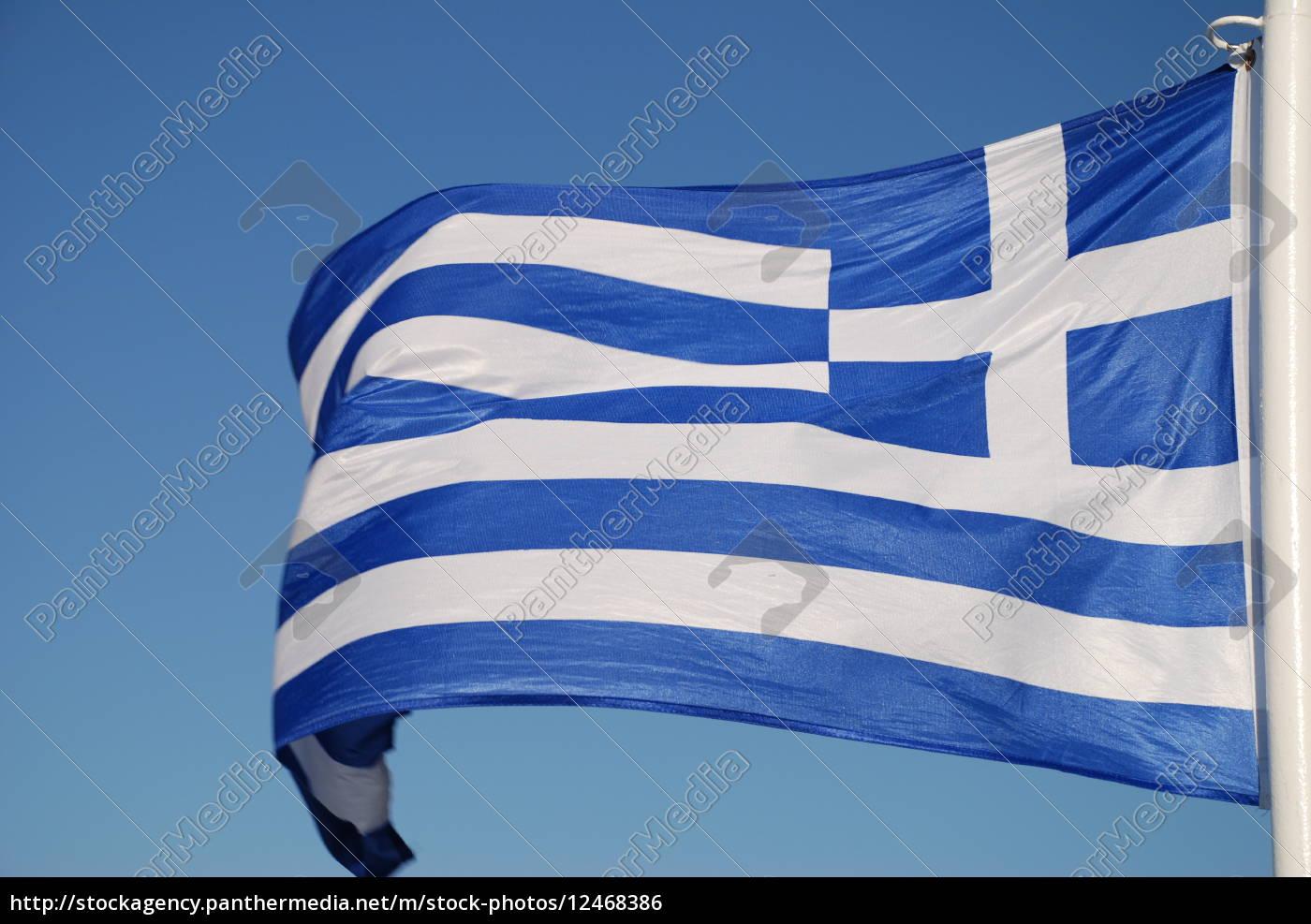 hellas, bandiera, bandiera, grecia - 12468386