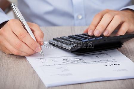 calcolo calcolatore elaboratore bilancio conto collaudare