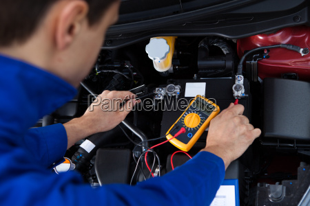 meccanico battery test car